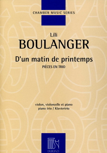 D'un matin de printemps : pour violon (ou flûte) & piano | Boulanger, Lili (1893-1918)