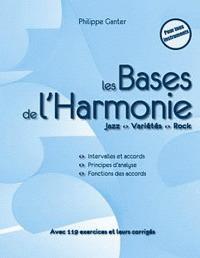 Les bases de l'harmonie : jazz, variété, rock | Ganter, Philippe
