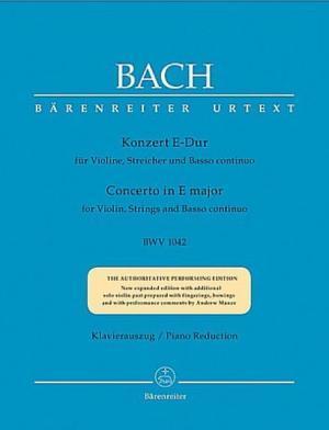 Konzerte in E-Dur BWV 1042 für Violine, Streicher und Basso continuo | Bach, Johann Sebastian (1685-1750)