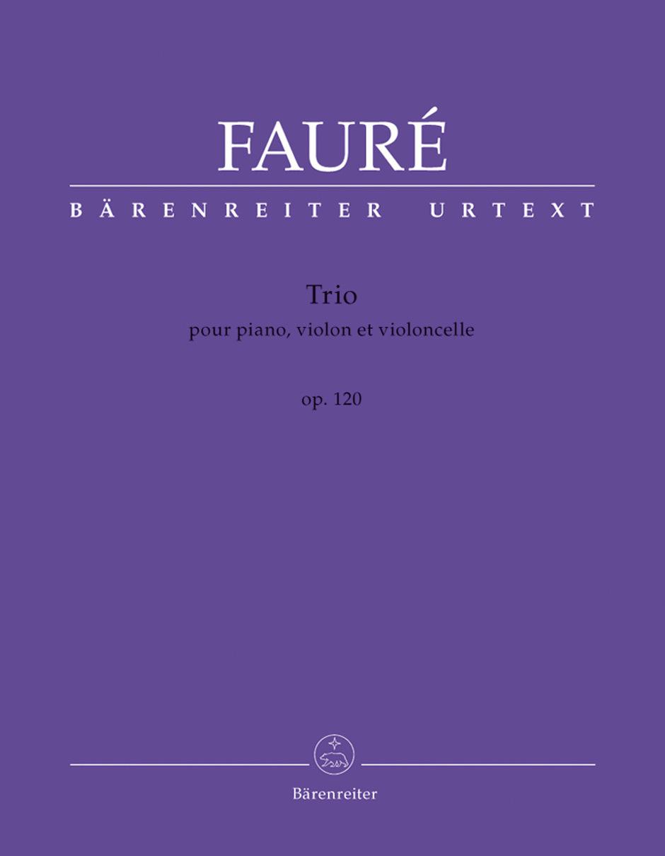 Trio, op.120 pour piano, violon et violoncelle   Fauré, Gabriel (1845-1924)
