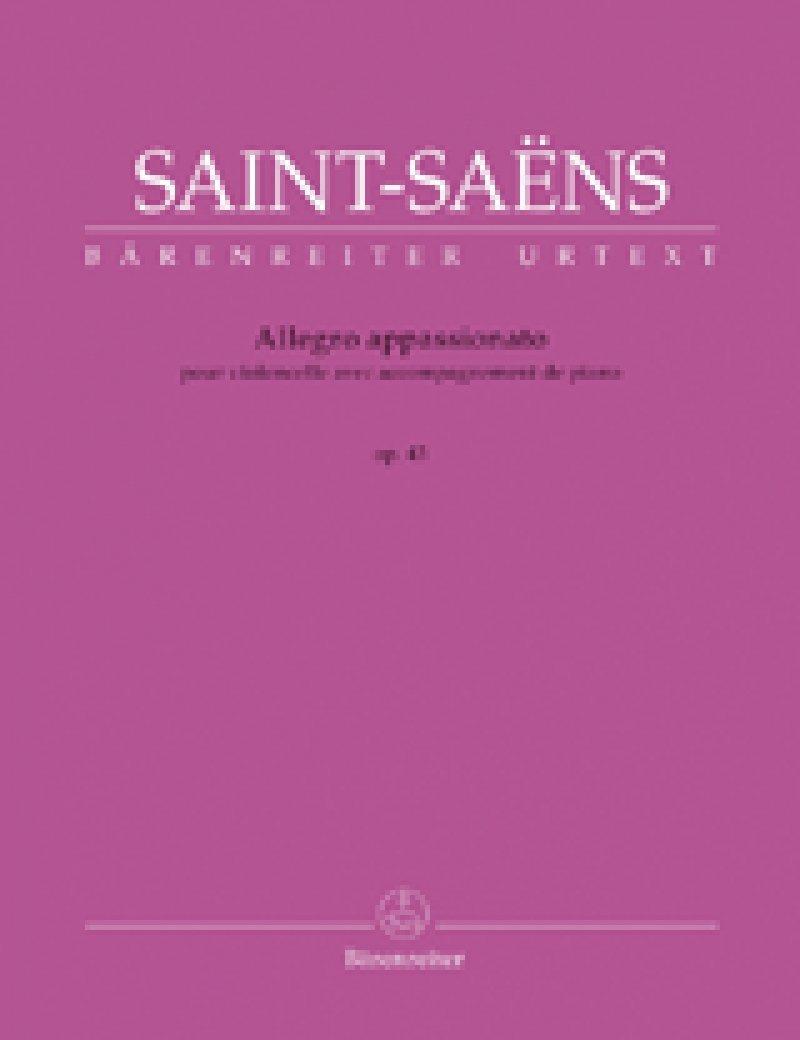 Allegro appassionato op.43 : pour violoncelle avec accompagnement de piano | Saint-Saëns, Camille (1835-1921)