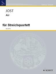 Air für Streichquartettnd Violoncello D-Dur | Jost, Christian (1963-)
