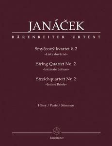 String quartet nr 2 : intimate letters | Janàcek, Leos (1854-1928)