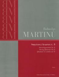 Streichquartett Nr 5 | Martinu, Bohuslav (1890-1959)