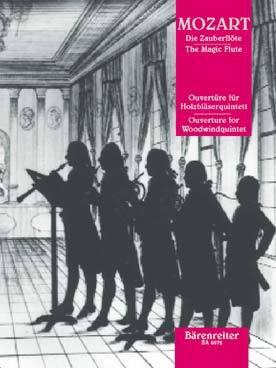 Die Zauberflöte : Ouvertüre für Holzbläserquintett | Mozart, Wolfgang Amadeus (1756-1791)