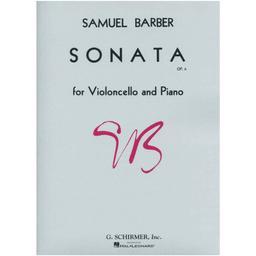Sonata op. 6 for violoncello and piano | Barber, Samuel (1910-1981)