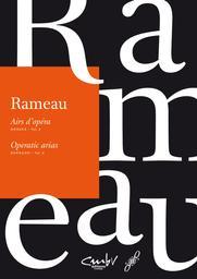 Airs d'opéra : dessus, soprano. Vol. 2 | Rameau, Jean-Philippe (1683-1764). Compositeur