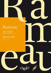 Airs d'opéra : haute-contre, tenor. Vol. 1 | Rameau, Jean-Philippe (1683-1764). Compositeur