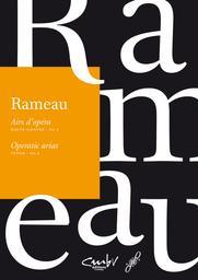 Airs d'opéra : haute-contre, tenor. Vol. 2 | Rameau, Jean-Philippe (1683-1764). Compositeur
