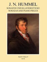 Sonaten und Klavier-Stücke | Hummel, Johann Nepomuk (1778-1837)