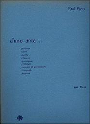 D'une âme... fervente : [pour piano] | Paray, Paul (1886-1979)