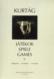 Játékok. 5, zongorara für Klavier   Kurtág, György (1926-....)