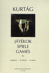 Játékok. 6, zongorara für Klavier | Kurtág, György (1926-....)