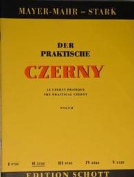 Der praktische Czerny : choix d'exercices et d'études de la totalité de l'oeuvre de Charles Czerny classés systématiquement par ordre de difficulté. [Vol.] II | Czerny, Carl (1791-1857)