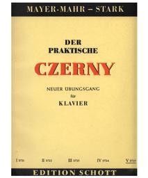 Der praktische Czerny : choix d'exercices et d'études de la totalité de l'oeuvre de Charles Czerny classés systématiquement par ordre de difficulté. [Vol.] V | Czerny, Carl (1791-1857)