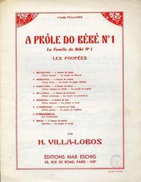 A próle do bébé nr 1. 6, A probreshina | Villa-Lobos, Heitor (1887-1959)