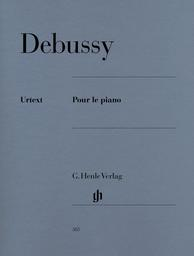 Pour le piano : prélude, sarabande, toccata | Debussy, Claude (1862-1918)