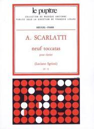 Neuf toccatas pour clavier   Scarlatti, Alessandro (1660-1725)