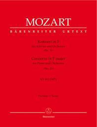 Konzert in F für Klavier und Orchester KV 413 | Mozart, Wolfgang Amadeus (1756-1791)