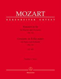 Konzert in Es für Klavier und Orchester KV 449 | Mozart, Wolfgang Amadeus (1756-1791)