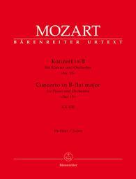 Konzert in B-flat major für Klavier und Orchester KV 450 | Mozart, Wolfgang Amadeus (1756-1791)
