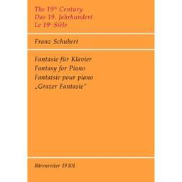 Fantasie für Klavier (ohne D-Nummer) : Grazer Fantasie | Schubert, Franz (1797-1828)