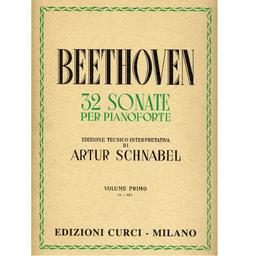32 sonate per pianoforte. Volume primo, (1-12) | Beethoven, Ludwig van (1770-1827)