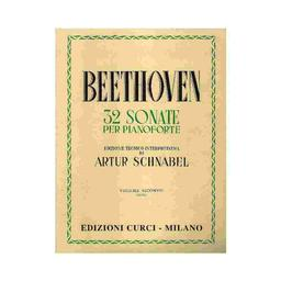 32 sonate per pianoforte. Volume secondo, (13 a 23) | Beethoven, Ludwig van (1770-1827)
