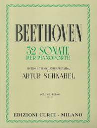 32 sonate per pianoforte. Volume terzo, (24-32) | Beethoven, Ludwig van (1770-1827)