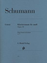Klaviersonate fis-moll Opus 11 | Schumann, Robert (1810-1856)