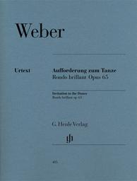 Aufforderung zum Tanze Des-dur Opus 95 | Weber, Carl Maria von (1786-1826)