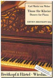 Tänze für Klavier | Weber, Carl Maria von (1786-1826)