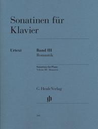 Sonatinen für Klavier. Band III, Romantik | Reinecke, Carl (1824-1910)