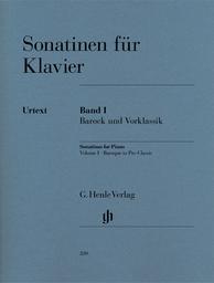 Sonatinen für Klavier. Band I, Barock und Vorklassik | Scarlatti, Domenico (1685-1757)