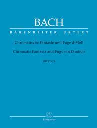 Chromatische Fantasie und Fuge d-Moll BWV 903 : Zweiter Teil der Klavierübung | Bach, Johann Sebastian (1685-1750)