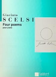 Four poems : pour piano | Scelsi, Giacinto (1905-1988)