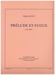Prélude et fugue pour piano | Alain, Jehan (1911-1940)