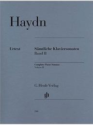 Sämtliche Klaviersonaten. Band II   Haydn, Joseph (1732-1809)