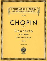 Concerto in e minor for the piano op. 11   Chopin, Frédéric (1810-1849)