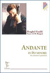 Andante in do minore : per coro di clarinetti | Gualdi, Henghel