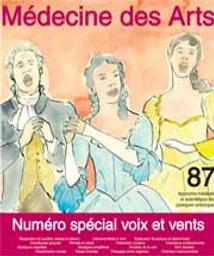 Médecine des arts : approche médicale et scientifique des pratiques artistiques. 87 juin 2019, numéro spécial voix et vents |