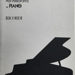 Antologia di autori contemporanei per pianoforte da îano |