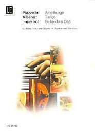 Amelitango : für Flöte, Viola und Gitarre | Piazzolla, Astor (1921-1992)