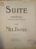 Suite [en trio] pour flûte violon et piano op. 59 | Bonis, Mélanie (1858-1937)